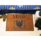"""Mercer (Atlanta) Bears 19"""" x 30"""" Starter Mat"""