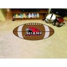 "22"" x 35"" Miami (Ohio) RedHawks Football Mat"