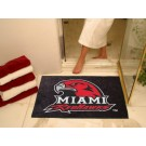 "34"" x 44 1/2"" Miami (Ohio) RedHawks All Star Floor Mat"
