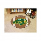 "North Dakota State Bison 22"" x 35"" Football Mat"