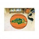 "North Dakota State Bison 27"" Round Basketball Mat"