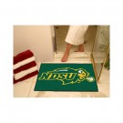 "North Dakota State Bison 34"" x 44.5"" All Star Floor Mat"