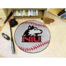 "27"" Round Northern Illinois Huskies Baseball Mat"