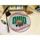 "27"" Round Ohio Bobcats Baseball Mat"
