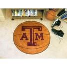 """27"""" Round Texas A & M Aggies Basketball Mat"""