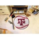 """27"""" Round Texas A & M Aggies Baseball Mat"""