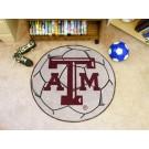 """27"""" Round Texas A & M Aggies Soccer Mat"""