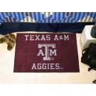 """Texas A & M Aggies 19"""" x 30"""" Starter Mat"""
