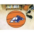 "27"" Round Akron Zips Basketball Mat"