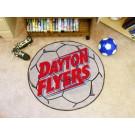 "27"" Round Dayton Flyers Soccer Mat"