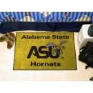 """Alabama State Hornets 19"""" x 30"""" Starter Mat"""