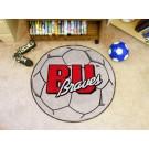 "27"" Round Bradley Braves Soccer Mat"