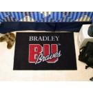 """Bradley Braves 19"""" x 30"""" Starter Mat"""