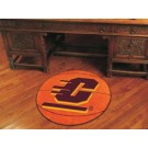 "27"" Round Central Michigan Eagles Basketball Mat"