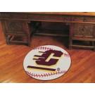 "27"" Round Central Michigan Eagles Baseball Mat"