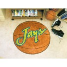 "27"" Round Creighton Blue Jays Basketball Mat"