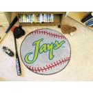 "27"" Round Creighton Blue Jays Baseball Mat"