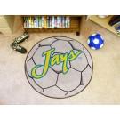 "27"" Round Creighton Blue Jays Soccer Mat"