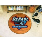 "27"" Round DePaul Blue Demons Basketball Mat"