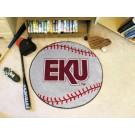 """27"""" Round Eastern Kentucky Colonels Baseball Mat"""
