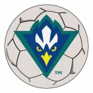 "27"" Round North Carolina (Wilmington) Seahawks Soccer Mat"