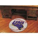 """27"""" Round Northern Iowa Panthers Baseball Mat"""