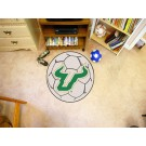 "27"" Round South Florida Bulls Soccer Mat"
