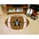 """22"""" x 35"""" Vanderbilt Commodores Football Mat"""