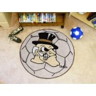"27"" Round Wake Forest Demon Deacons Soccer Mat"