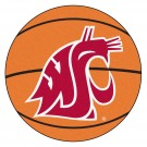 "27"" Round Washington State Cougars Basketball Mat"