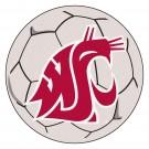 """27"""" Round Washington State Cougars Soccer Mat"""