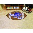 "22"" x 35"" Western Carolina Catamounts Football Mat"
