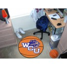 "27"" Round Western Carolina Catamounts Basketball Mat"
