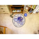 "27"" Round Western Carolina Catamounts Soccer Mat"