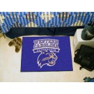 "Western Carolina Catamounts 19"" x 30"" Starter Mat"