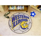 "27"" Round Western Illinois Leathernecks Soccer Mat"