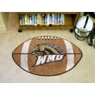 "22"" x 35"" Western Michigan Broncos Football Mat"