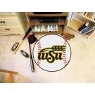 "27"" Round Wichita State Shockers Baseball Mat"