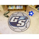 """27"""" Round Georgia Southern Eagles Soccer Mat"""