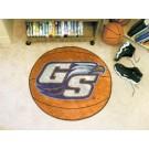 "27"" Round Georgia Southern Eagles Basketball Mat"