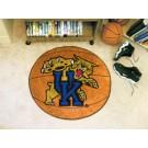 """Kentucky Wildcats 27"""" Round Basketball Mat"""
