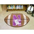 "Northwestern Wildcats 22"" x 35"" Football Mat"