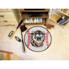 "27"" Round Fort Hays State Tigers Baseball Mat"