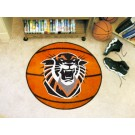 "27"" Round Fort Hays State Tigers Basketball Mat"