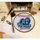 "Old Dominion Monarchs 27"" Round Baseball Mat"