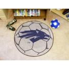 "27"" Round Nevada Wolf Pack Soccer Mat"