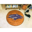 "27"" Round Nevada Wolf Pack Basketball Mat"