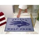 """34"""" x 45"""" Nevada Wolf Pack All Star Floor Mat"""