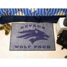 """Nevada Wolf Pack 19"""" x 30"""" Starter Mat"""