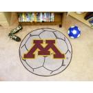 """27"""" Round Minnesota Golden Gophers Soccer Mat"""